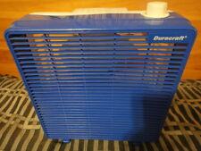 Vintage Blue & White Duracraft Corp Plastic Box Fan DB-10