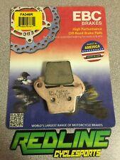 1995-2007 Honda CR125 CR250R Ebc rear brake pad set FA346R