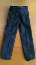 1/6 Scale Black  Jeans Fit walking dead Rick Grimes hot toys body TTM19 cowboy
