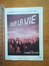 FICHE CINÉMA Première FILM - Viva la vie C Lelouch 1984 C Rampling M Piccoli