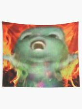 Bibble Meme Funny Cartoon Tapestry Wall Décor, Many Other Sizes, Funny Tapestry