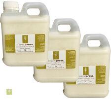 COCONUT OIL (FIJI) - COLD PRESSED (VIRGIN) - 100% ORGANIC - 1L x 3 PACK