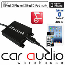 Enlace Coche XCarLink Becker Indianapolis Pro iPod iPhone 4 5 6 7 adaptador de interfaz de coche