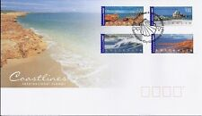 MINT 2004 AUSTRALIAN COASTLINES - INTERNATIONAL STAMPS FDC COVER FV $9.00