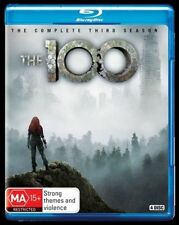 The 100 : Season 3 (Blu-ray, 2016, 4-Disc Set)