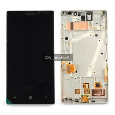 New White Nokia Lumia 930 Touch Digitizer+LCD Screen Display Assembly With Frame