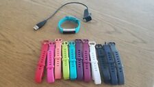 Fitbit Alta Activity Tracker with charger and 11 bands