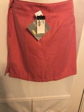 Greg Norman Perfect Fit Rose Golf Skort Polyester NWT $65.00