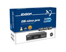 Edision OS NINO PRO S2X + T2/C LAN WiFi Bluetooth Grey TOP AUSSTATTUNG