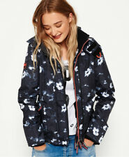 Superdry Womens Printed Hooded Arctic Sd-Windcheater Jacket