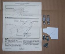 1967 Impala Rear Bumper Guards Hooks Hardware Installation Kit