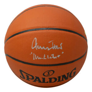 Jerry West Signed LA Lakers Spalding Replica Basketball Mr Clutch Inscribed PSA