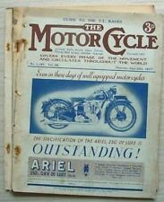The MOTOR CYCLE Magazine 10 Jun 1937   344cc Spring Frame New Imperial Road Test