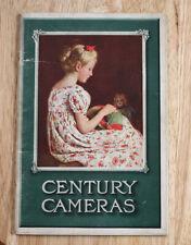Kodak Century 1908 Catalog, 52 Pages/cks/199893