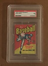 1975 Topps baseball wax pack regular size High End PSA 7 NM Brett Yount FREE S/H