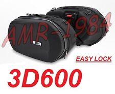 BORSE LATERALI SEMIRIGIDE 3D600 EASYLOCK 18-28 LITRI TERMOFORMATE 3D600 EX TPH10