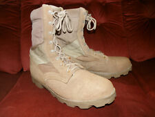 More details for us army / special forces gulf war desert boots size 13