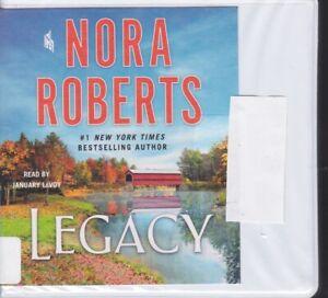LEGACY by NORA ROBERTS ~UNABRIDGED CD AUDIOBOOK