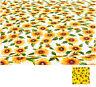 TELO ARREDO granfoulard girasoli cotone varie misure copriletto divano poltrona