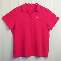 Under Armour AUDI Polo Golf Shirt 2XL Women's Red V-Neck - Unworn w/ Tag **