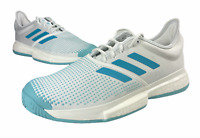 Adidas Mens SoleCourt Boost Parley Tennis White Blue Shoes Size 10.5 G26295 NWT