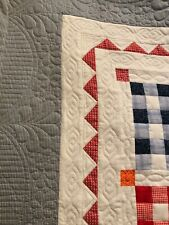 Fast, done in 2 week!  Professional Computerized Long arm quilting service.
