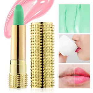Rouge À Lèvres Hydratant Baume Brillant Gloss Changeant Couleur Aloè Temperature