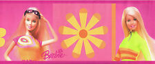 Mattel Just for Girls Summer Barbie Wallpaper Border LK67101
