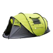 MALAMOO MEGA 3 SECOND EASY SETUP WATERPROOF 4 PERSON FAMILY POP UP TENT MALMEGA