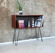 60er Palisander Standregal Danish Mid-Century 60s Rosewood Cabinet Shelf Vintage