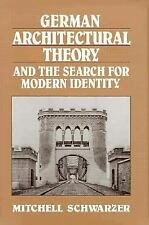 German Architectural Theory and the Search for