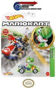 Mario Kart Hot Wheels Toy Cars - Yoshi Pipe Frame - FREE 1st Class POST *V.RARE*