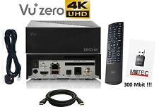 Vu+ Plus Zero 4K Sat Receiver 1x DVB-S2X Tuner USB LAN Linux E2 + WLAN 300Mbit