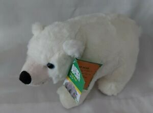 "ARCTIC ANIMAL PLANET SOFT PLUSH TOYS 9"" APPROX  POLAR BEAR BNWT"