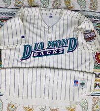 Arizona Diamondbacks Authentic Russell Diamond Collection Baseball Jersey 52 2Xl