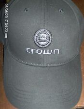 crown Audio CAP Black Cotton Low Profile embroidered Logo amplifier baseball CH1