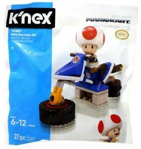 Super Mario Kart K'nex Toad Hover Bike Building Set 27 Piece Set  38647