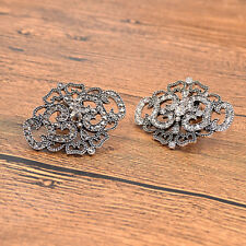 1pc Women Crystal Shoe Charms Clip Removable Bridal Sandal Decor Gift