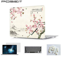 Hard Shell Rubberized keyboard cover For Apple Macbook A1466 A1708 A1706 A1707