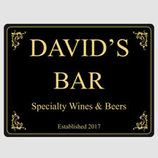 Patternless Novelty Bar & Pub Decorative Plaques & Signs
