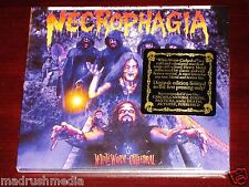 Necrophagia : whiteworm Cathedral CD 2014 BLANC VER Saison Som 284d DIGIPAK NEUF