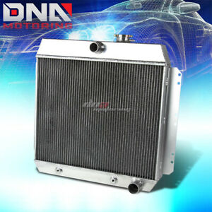 FOR 1949-1954 CHEVY STYLE/FLEETLINE/BEL AIR 3-ROW FULL ALUMINUM RACING RADIATOR