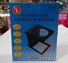 ILLUMINATED FOLDING MAGNIFIER, Useful for Watch / Jewelers Repair etc.