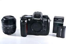 Nikon D100 6.1MP Digital SLR Camera - Black Kit with Sigma 28-70mm Lens
