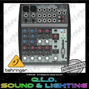 Behringer 1002 10 Channel Analogue Mixing Console
