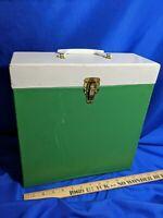 "RCA Dealer Advertising LP Carrying Case Turquoise 12"" Vinyl Record MCM Storage"