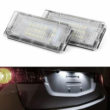 ECLAIRAGE PLAQUE LED BMW SERIE 3 E46 BERLINE TOURING COMPACT 1998-2005 BLANC