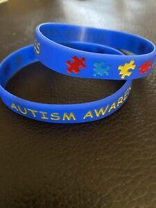 2 Autism awareness Wristbands