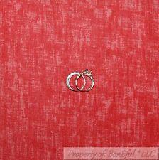BonEful Fabric Cotton Quilt Red Tone Tonal Shade Texture Blender Boy Girl SCRAP