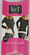 Hip-T Layering Accessory For Your Hips Black & White The Original -No Lace XL
